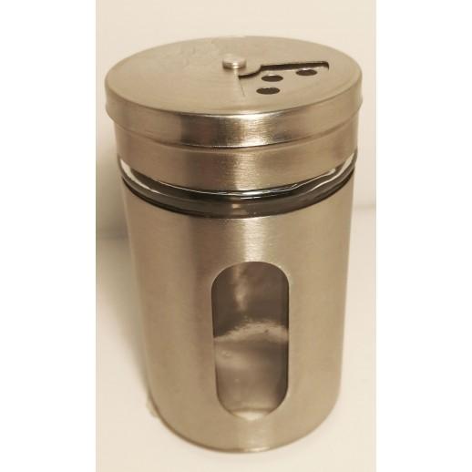 Spice jar with regulator inox
