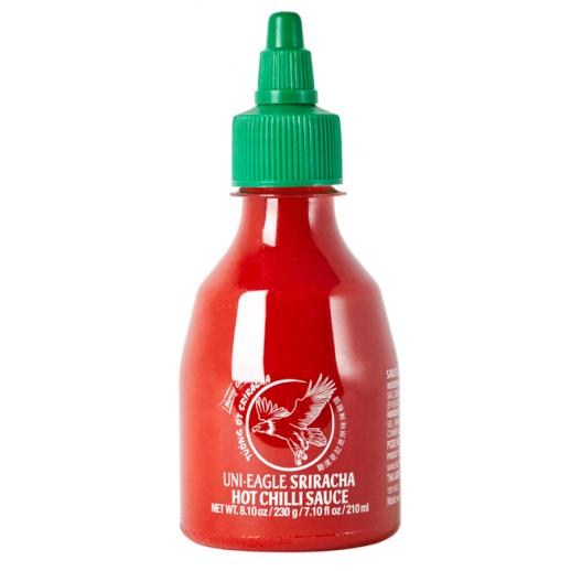 Uni-Eagle Sriracha chilli hot sauce 210ml